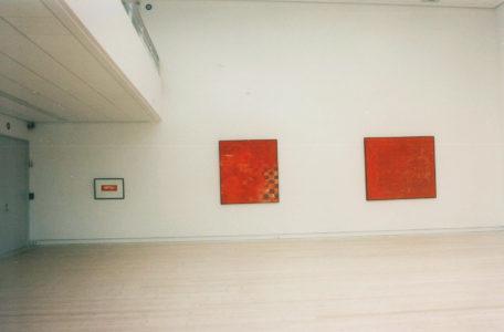 Ola Billgren - Studier i rødt udstilling
