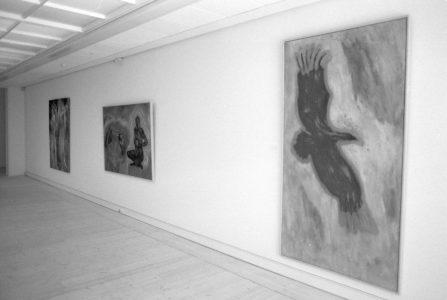 Nina Sten-Knudsen - Random walk udstilling 1995