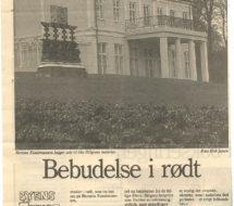 Ola Billgren i avisen 1995