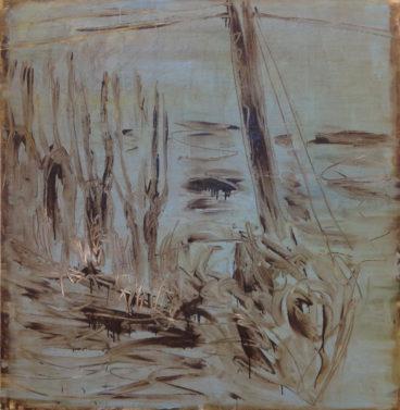 Landskab på museum 1995