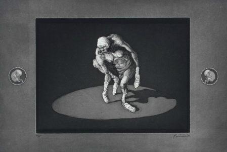 Michael Kvium - Tegninger og grafik (museets samling)