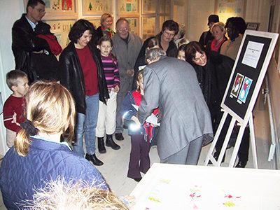 Børn tegner Horsens Kommunes Julekort