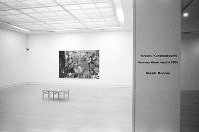 Horsens Kunstmuseums Venners Kunstnerpris ophængning