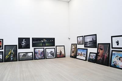 """foto fra udstillingen """" 53 + 53"""""""