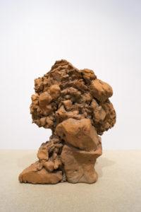 Brændt lerskulptur. 1964-65