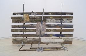 Plankeværket (over digt af Miguel Angel Sevilla). 1981-82