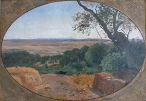 Udsigt fra TivoliCa. 1845