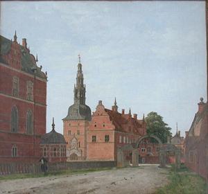 Parti af Frederiksborg. Karusselporten. (1834-1836)