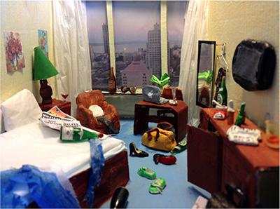 The Hotelroom. 2014