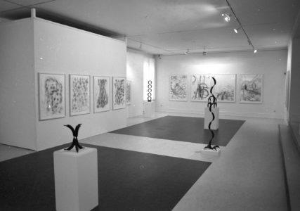 Stemningsbillede fra udstillingen