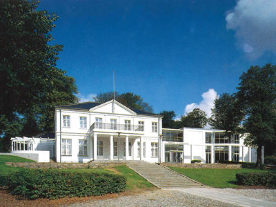 Billede af Horsens Kunsat museums nye tilbygning