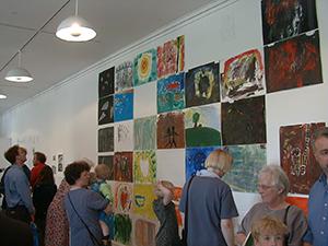 Horsens Kunstmuseums Billedskole udstilling 1999