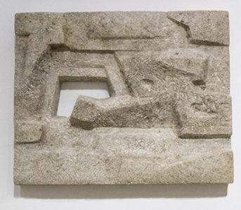 Reliefskulptur. 1961