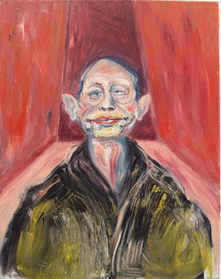 Portræt af Michael Kvium, 1985
