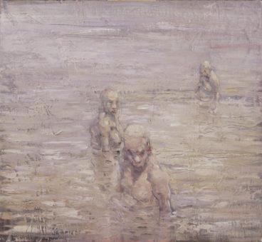 Hvidt bad maleri, 2002