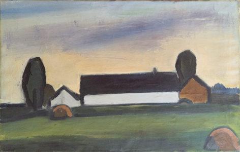 Landskab. 1928