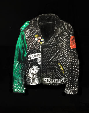 Jacket with Green Sleeve. 2018, Rose Eken