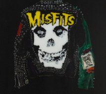 Misfits- Jacket with Green Sleeve. 2018