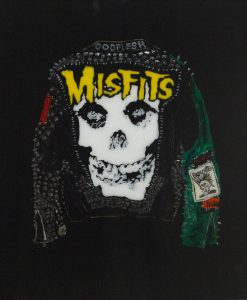 Misfits- Jacket with Green Sleeve. 2018