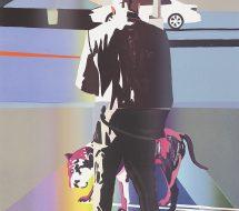 Man and Dog, Harlem New York, 2012
